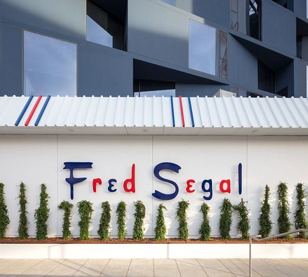 Exterior of Fred Segal in West Hollywood. Image courtesy Fred Segal.