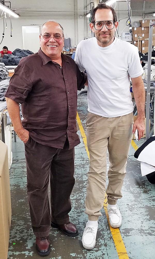 Ram Sareen and Dov Charney