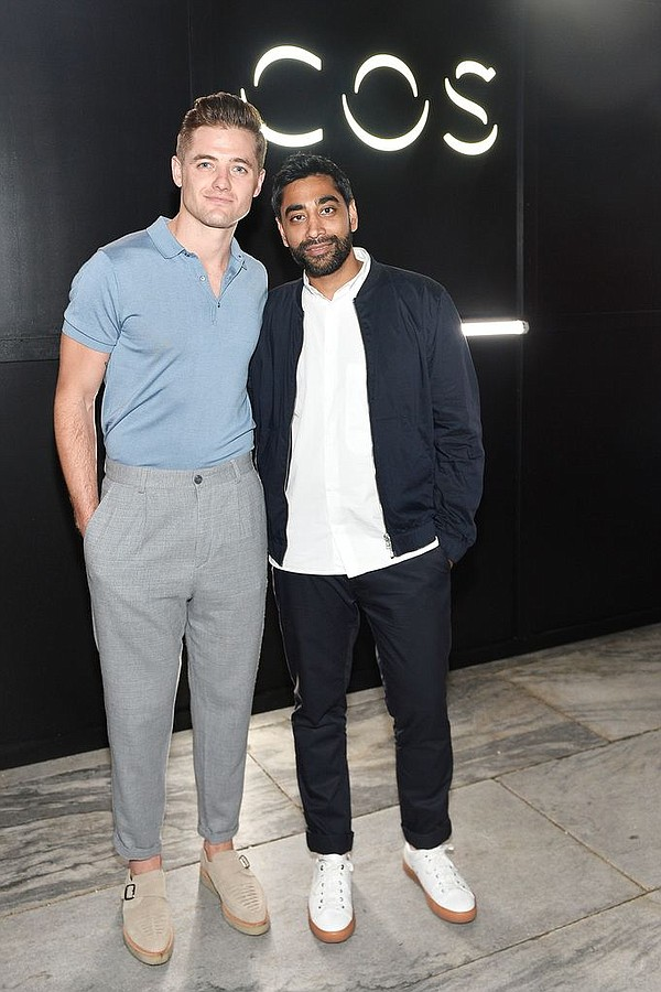 Robbie Rogers, left, and Atul Pathak. Photo by Stefanie Keenan/Getty Images for COS.