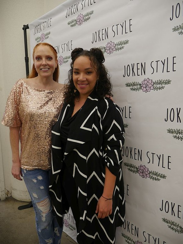 Joken Style's Eme Mizioch, left and Ashley Thweatt.