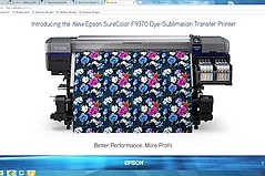 Epson's Latest Printer Aims for High-Speed Production Users