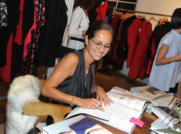 Maria Cornejo at book signing. Photo by Donato Sardella.
