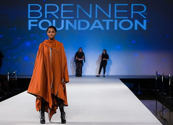 ADIFF's tent jacket on the runway at Style Fashion Week. The event took place at the Brenner Foundation's program at Style Fashion Week. Photo courtesy of Style Fashion Week.