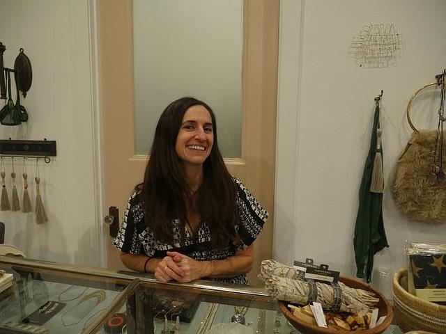 Erica Tanov at her RowDTLA boutique.