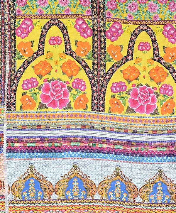 """Kalimo Textil #912097D/T33 EXP """"Bossa Flex Estampado"""""""