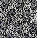 A Plus Fabrics Inc. #LX-614L Nylon/Spandex Lace With Lurex