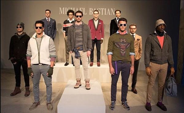 Michael Bastian Gray Label. All photos by Eli Schmidt/UBM Fashion.