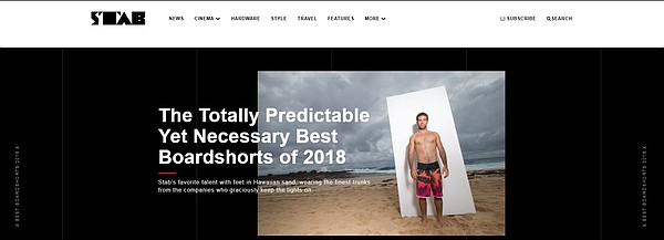 From a Stab magazine editorial on boardshorts. Via stabmag.com