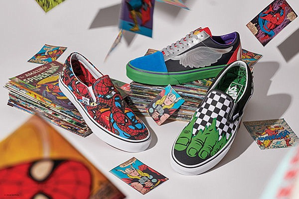 ca07c793e93b40 Highly Anticipated Vans x Marvel Collection Released