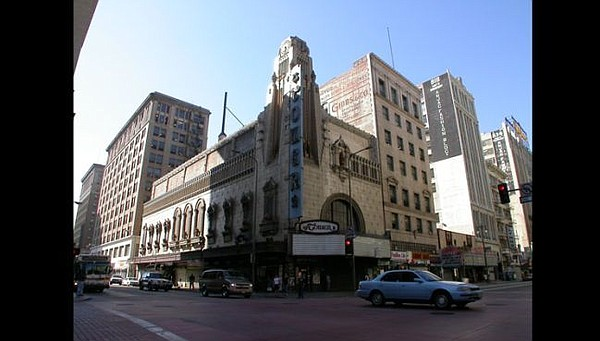 Exterior of Tower Theatre. Image via towertheatrela.com