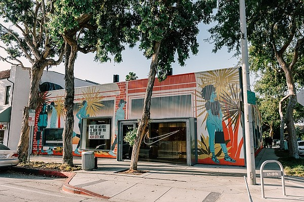 The Nike Live store on Melrose Avenue