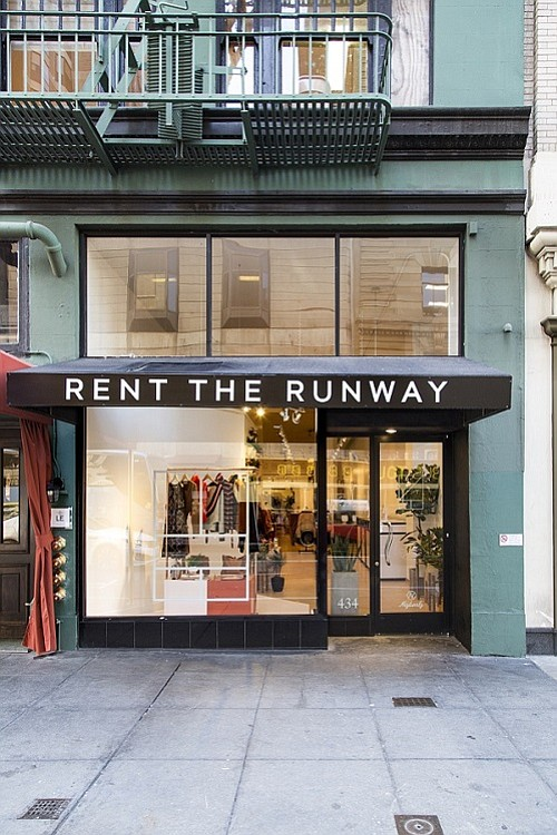 Resultado de imagen para rent the runway open first store ny