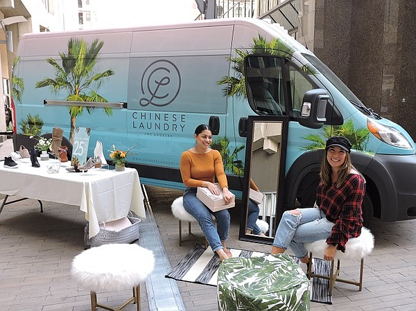 Marilyn Ceron and Mandi Williams of Chinese Laundry