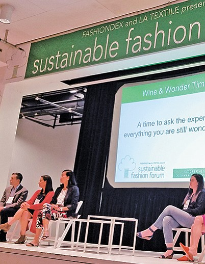 "The ""Ask the Experts"" panel at the Sustainable Fashion Forum"