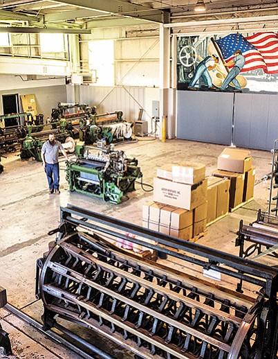 Inside Huston Textile Co. | Photo by Karlos Rene Ayala