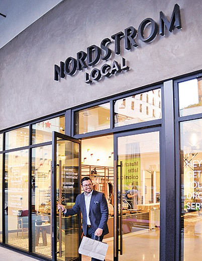 Nordstrom Local in downtown Los Angeles is considered to be part of a new wave of retail.  | Photo courtesy of Nordstrom