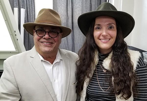 Ram Sareen, left, and Marta Miller Photo: Tukatech
