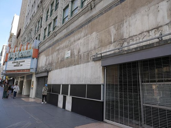 DTLA space where Paul Smith is scheduled to open at end of 2019.