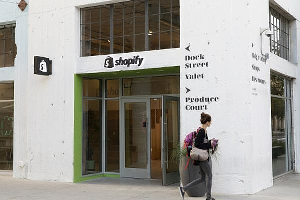 Shopify also runs a center for merchants at Row DTLA in downtown Los Angeles. Image via shopify.com
