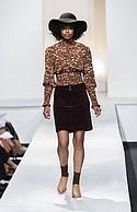 L.I.F.E. top, Wallflower corduroy skirt