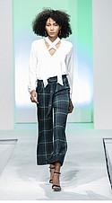 Larsyn & Lily blouse, John Paul Richard trouser