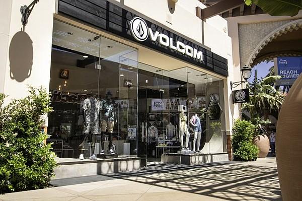 Exterior of Volcom shop at Irvine Spectrum. All images courtesy of Volcom