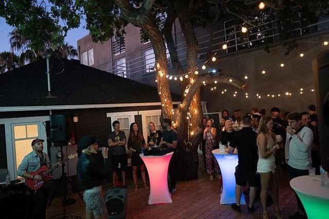 Party at Avocado flagship on July 26. All photos courtesy of Avocado