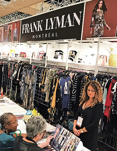 Frank Lyman booth at WWIN
