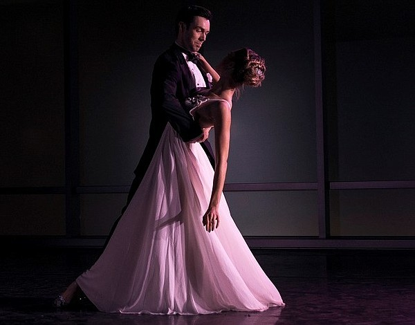 """Josh Brown and Cara Hansvick dance """"They Can't Take That Away from Me"""" Photo: Mary Joyce"""