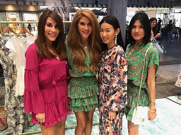 Guests wearing Misa Los Angeles