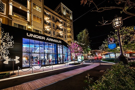 Under Armour boutique at Americana at Brand.  Photo: Greater Downtown Glendale Association