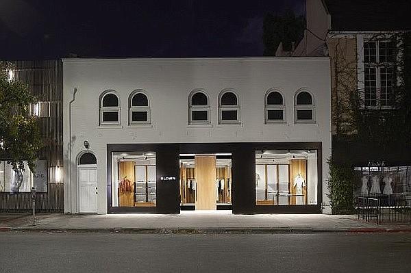 Exterior of Bldwn's Melrose Place flagship.  Photo: Bldwn