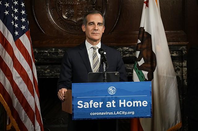 Los Angeles Mayor Eric Garcetti Photo: City of Los Angeles