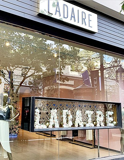 Ladaire pop-up shop at the Americana at Brand