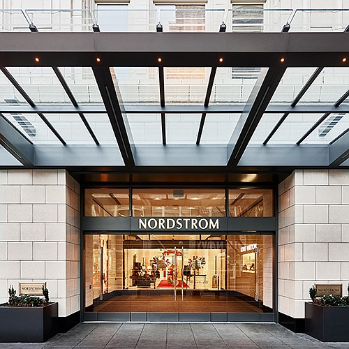 Nordstrom's downtown Seattle location Photo: Nordstrom