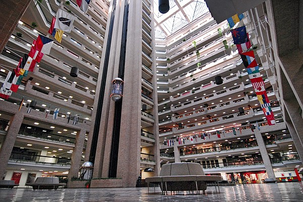 Dallas Market Center Atrium Photo: Dallas Market Center