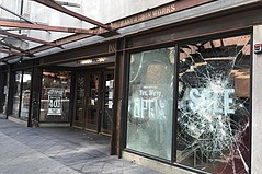 As Demonstrations Continue, Some L.A. Fashion District Businesses Address Damage