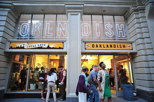 Oaklandish store Photo: Oaklandish