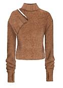 Cutout chunky sweater