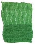 Delicate open fine gauge knit
