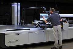 Gerber Releases Atria Digital Cutter, 'Its Smartest Machine'