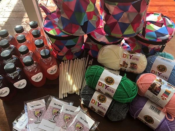 Yarn Movement's SEYG kits Photo: Yarn Movement