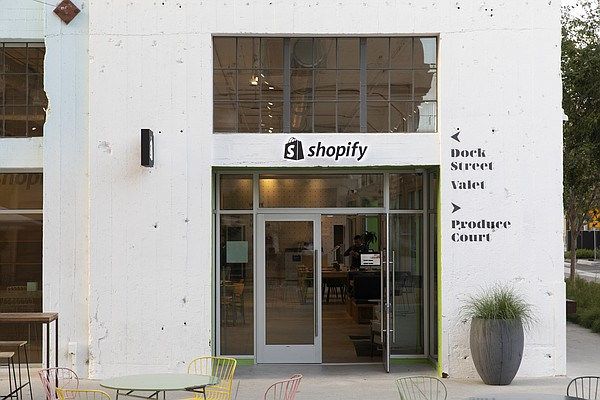 Shopify bricks-and-mortar space located at RowDTLA