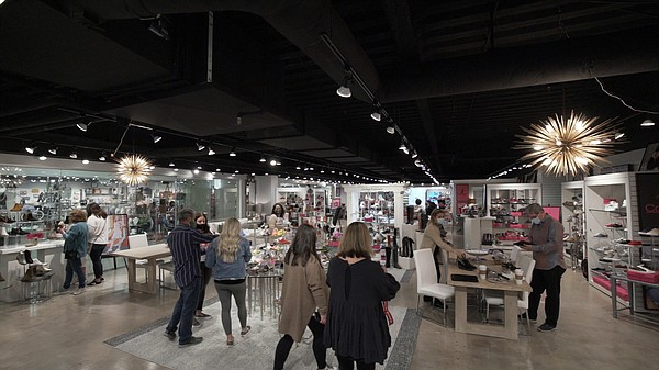 Buyers attend the Dallas Apparel & Accessories Market at the Dallas Market Center Jan. 12–15. 