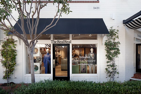 The RealReal's Newport Beach location in Orange County, which opened Feb. 5. 