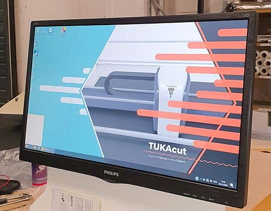 Tukatech Cutter 2021 TUKAcut software Photo: Tukatech