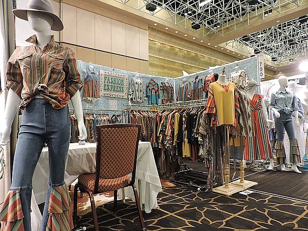 Fashion Express booth at the February 2020 edition of Womenswear in Nevada at the Rio All-Suites Hotel & Convention Center in Las Vegas.