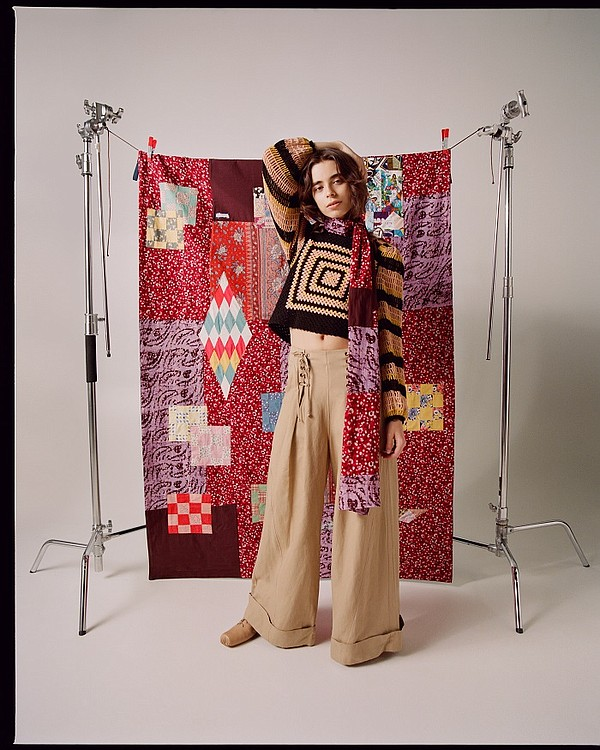 Ulla Johnson, whose tapestry and scarf are pictured, is one of eight luxury brands partnering with The RealReal in the high-end reseller's new ReCollection upcycling program. Photo: The RealReal