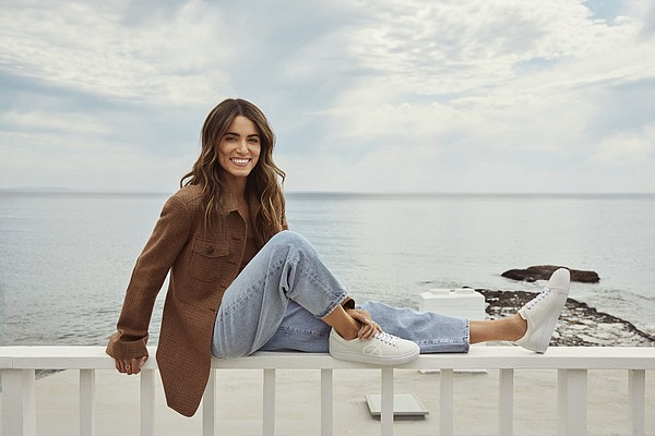 The Reed X Loci luxury-sneaker partnership was a natural step for Nikki Reed, who focuses on eco-friendlier fashion production. Photo: Loci