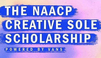 The NAACP Creative Sole Scholarship Powered by Vans was announced May 20 to support Black students who are pursuing creative fields.  Image: Vans